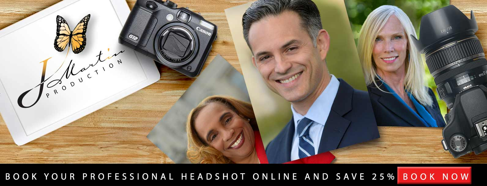 Book Professional Headshot Online and Save